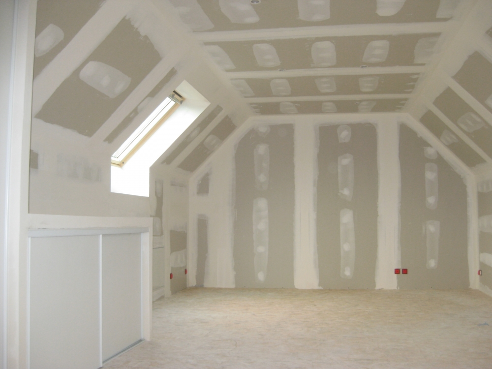 Habillage en placoplatre ba13 olivet 45 for Habillage faux plafond